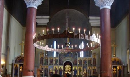 Belgrado - Interior da Catedral de São Marcos