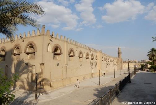 Amr ibn Al Aas Mosque, Cairo, Egito
