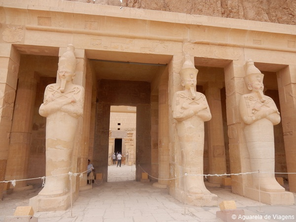 Hatshepsut, estátuas