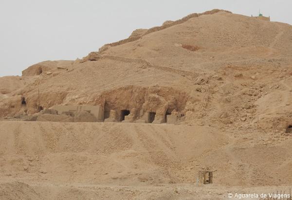 Ruínas de Deir el-Bahari